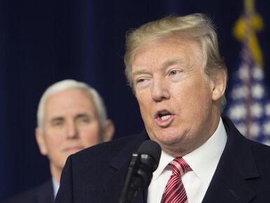 Duża wpadka Donalda Trumpa. Prezydent nie zna słów amerykańskiego hymnu?