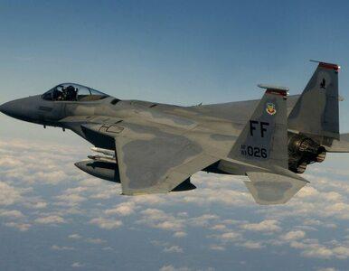 W Anglii rozbił się amerykański F-15