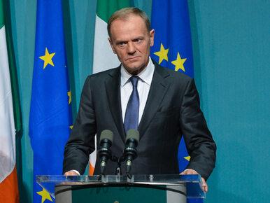 Tusk: Przywódcy UE zgodni. Za atak na Skripala prawdopodobnie odpowiada...