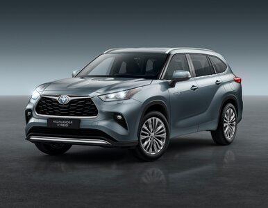 Największy SUV Toyoty wjeżdża na polski rynek