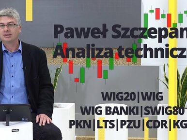 Paweł Szczepanik przedstawia: WIG20, WIG BANKI, WIG, PKN, LTS, PZU, CDR,...
