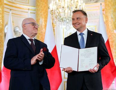 Andrzej Duda na Zamku Królewskim odebrał uchwałę PKW o wyborze na...