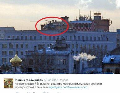Śmigłowce FSB i Kremla nad Moskwą. Mają związek z chorobą Putina?