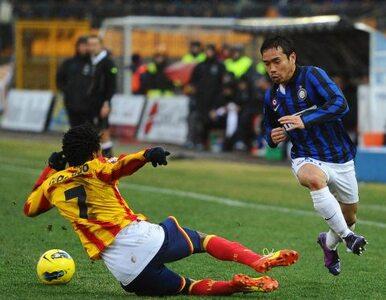 Serie A: Inter stracił bramkę, strzelił dwie i... przegrał z outsiderem