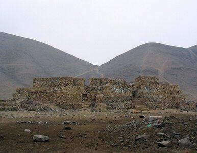 Deweloperzy zniszczyli 4000-letnią piramidę Inków