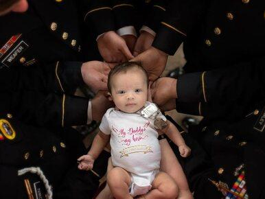 Jej ojciec zginął, nim się urodziła. Armia powitała dziewczynkę w...