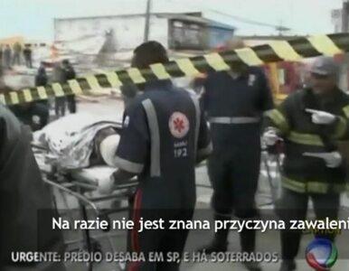 Zawalił się budynek. Sześć osób zginęło pod gruzami