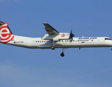 Awaryjne lądowanie samolotu w Poznaniu. Pilot zgłosił usterkę silnika