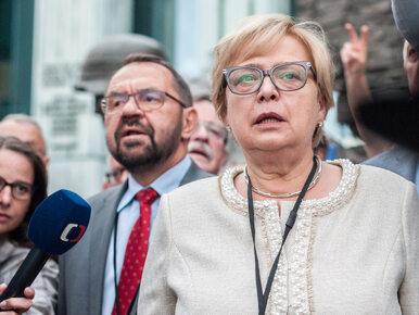 Małgorzata Gersdorf wystąpi przed niemieckim Trybunałem Sprawiedliwości