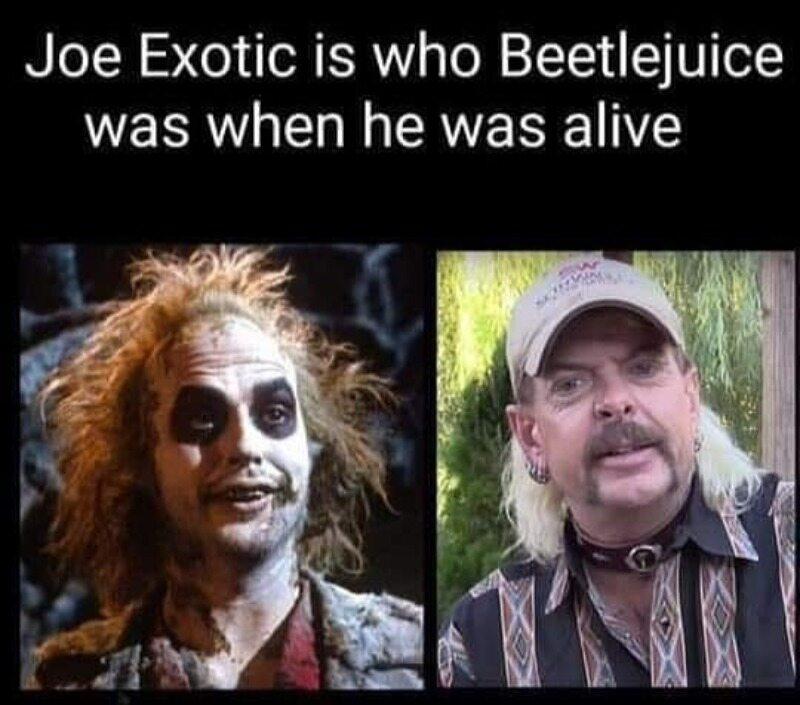 Joe Exotic to żyjąca wersja Beetlejuice'a
