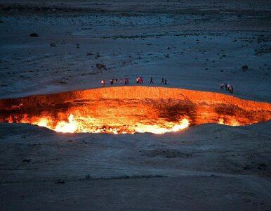 To miejsce płonie od prawie 50 lat. Wrota Piekieł na pustyni Kara-kum