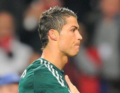 Ronaldo z gola się nie cieszył