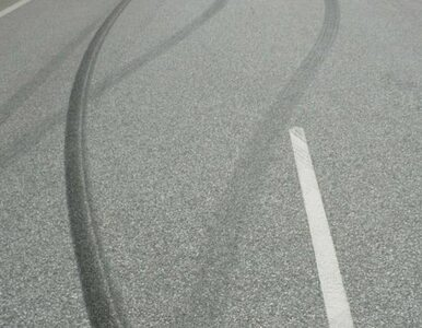 Małopolska: pijany kierowca wypadł z drogi