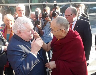 Lech Wałęsa spotkał się z Dalajlamą. Padły słowa o Polsce