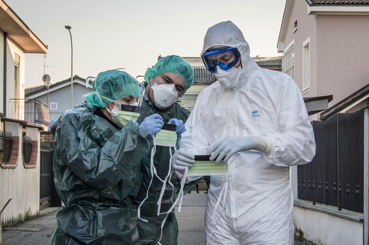 Personel medyczny w miejscowości Castiglione d'Adda