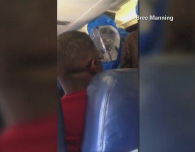Pasażer samolotu żartował, że ma ebolę. Interwencja służb medycznych