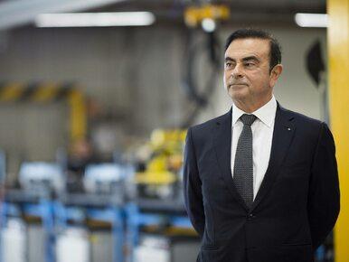 Przedłużono areszt dla prezesa Nissana. Carlos Ghosn ukrywał dochody?