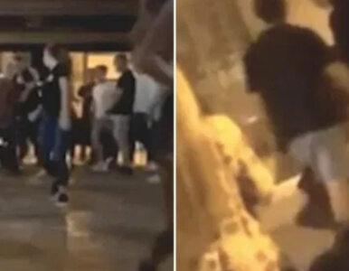 """Dewastacja barów i bójki. Tak wyglądała """"impreza"""" na ulicach Hiszpanii"""