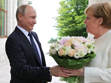 Nagłe spotkanie Putina z Merkel. Czego dotyczyły będą rozmowy?