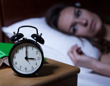 Dlaczego nie mogę zasnąć? Odpowiada psychiatra