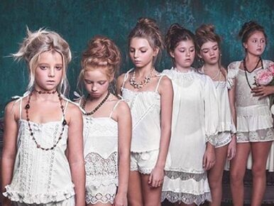 """Sesja zdjęciowa z dziećmi w """"seksownej bieliźnie"""" wywołała skandal"""