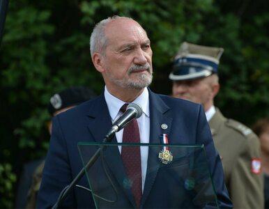 Macierewicz do organizacji proobronnych: Waszą partią jest Polska