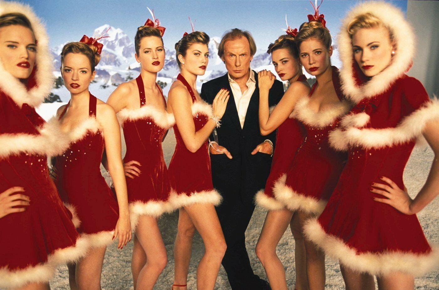 """Jak nazywa się postać z filmu """"To właśnie miłość"""", w którą wcielił się aktor Bill Nighy?"""