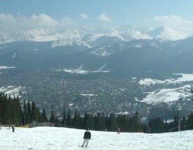 Maj - a w Tatrach zima