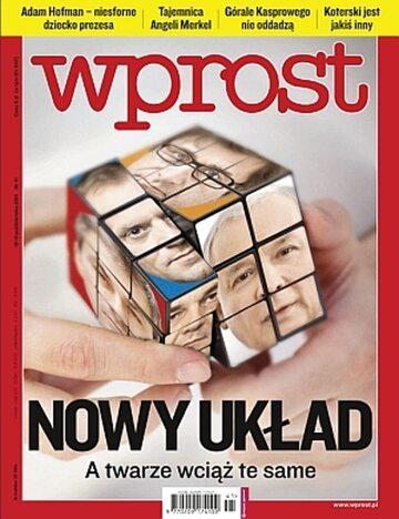 Okładka tygodnika Wprost nr 41/2011 (1496)