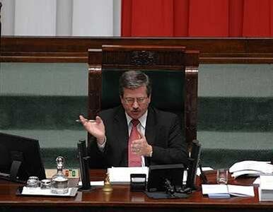 Poseł PiS: marszałek Sejmu legalizuje nepotyzm