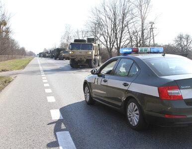Pociski do czołgów rozsypane na drodze. MON wydało oświadczenie