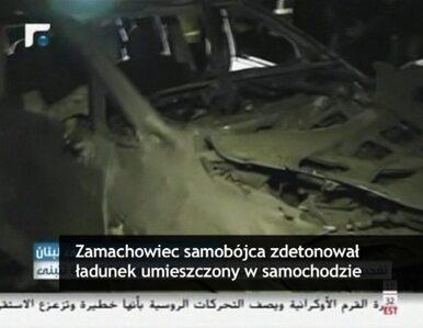 Samobójczy zamach w Libanie. Celem byli członkowie Hezbollahu