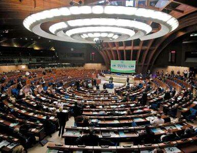 Rada Europy potępiła Rosję i aneksję Krymu