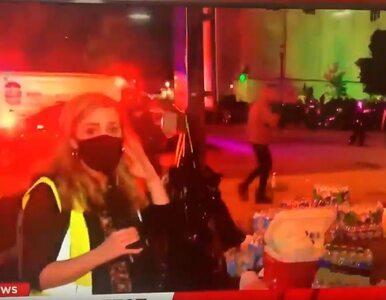 """Reporterka NBC ostrzelana pociskami pieprzowymi przez policjanta. """"Nie..."""