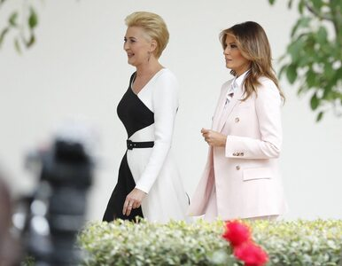 Agata Kornhauser-Duda w eleganckiej kreacji, Melania Trump w garniturze....