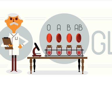 Karl Landsteiner. Kim jest bohater Google Doodle?