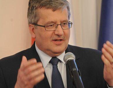Komorowski w Kosowie: Polska nie ucieka od odpowiedzialności
