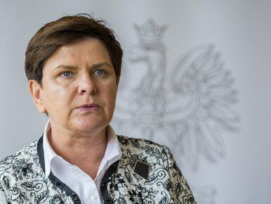 """Mocna odpowiedź Szydło na słowa Macrona. Premier zarzuca mu """"brak..."""