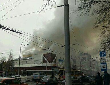 Tragiczny pożar centrum handlowego w Kemerowie. Co najmniej 53 ofiary...