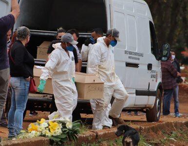 Koronawirus w Brazylii. Rekordowa liczba zgonów w ciągu doby