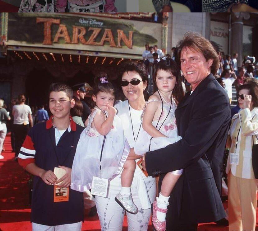 Rob Kardashian, Kylie Jenner, Kris Jenner, Bruce Jenner i Kris Jenner