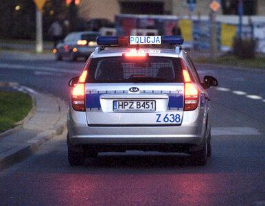 Zobacz pościg za mężczyzną, który potrącił policjanta