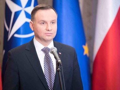 NA ŻYWO: Oświadczenie prezydenta Andrzeja Dudy