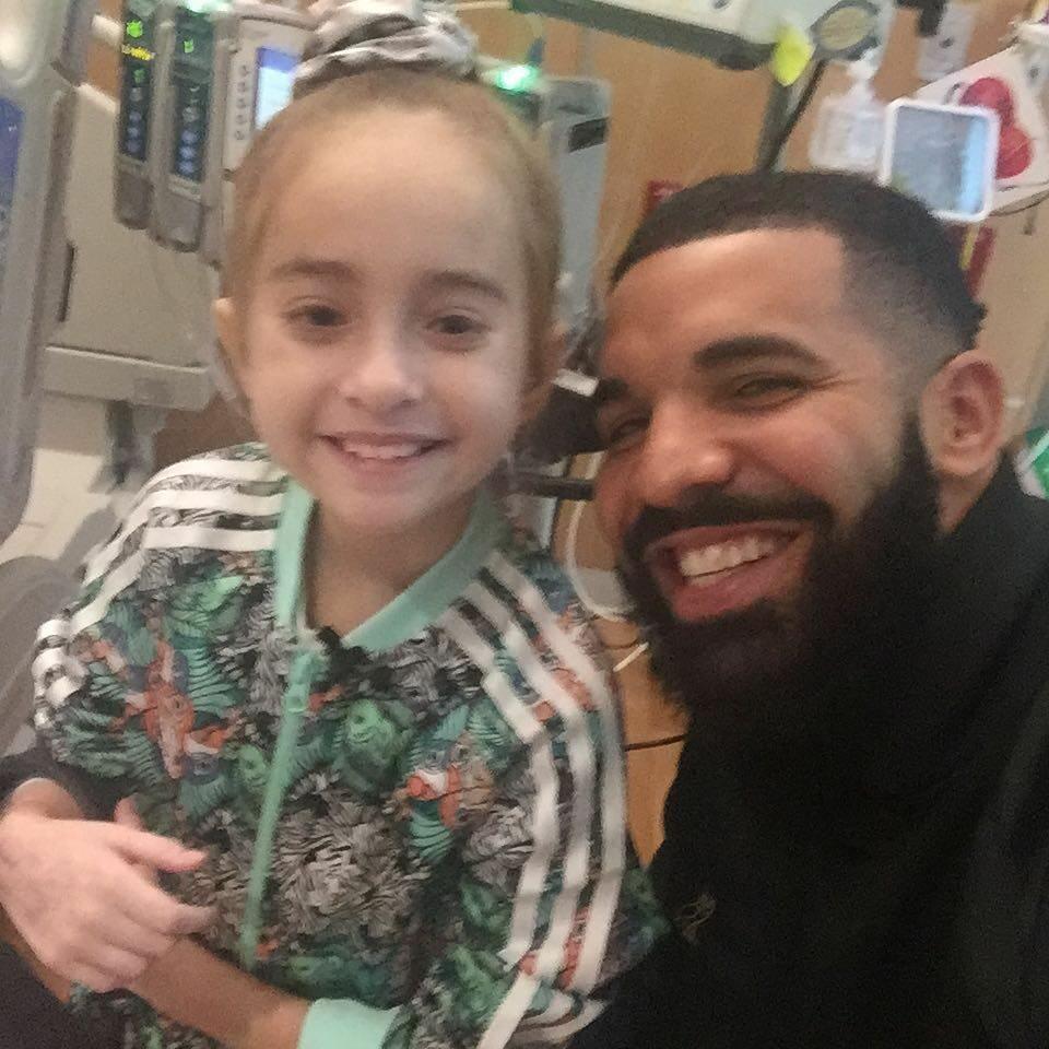 Sofia Sanchez i raper Drake