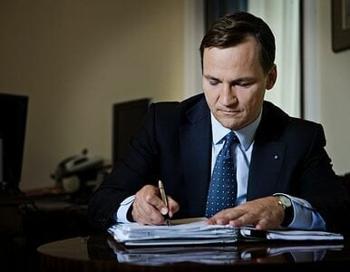 """Sikorski szefem unijnej dyplomacji? """"Myślałem o tym do czasu Ukrainy,..."""