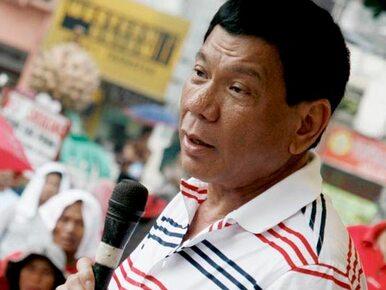 Dużo gwałtów? Prezydent Filipin wyjaśnia: Bo jest wiele pięknych kobiet