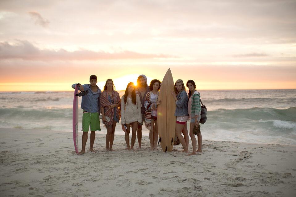 Studenci na plaży