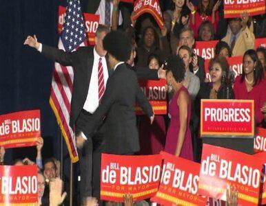 Bill De Blasio: Nowy Jork wybrał nową ścieżkę rozwoju