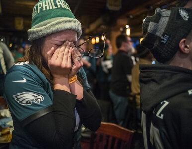 Zamieszki w Filadelfii po... zwycięstwie w Super Bowl. Pożary, bójki,...