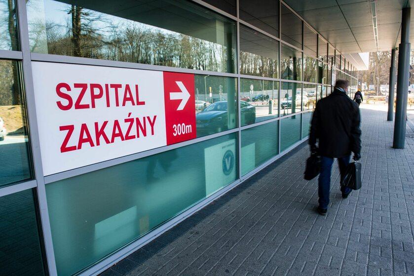 Szpital zakaźny, zdjęcie ilustracyjne